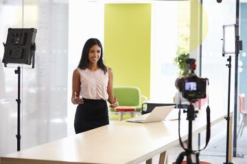 5 formatos de vídeo para realizar treinamentos corporativos