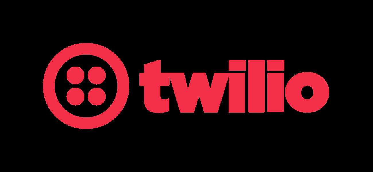Twilio logo red odpbio