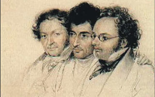 Teltscher drei freunde