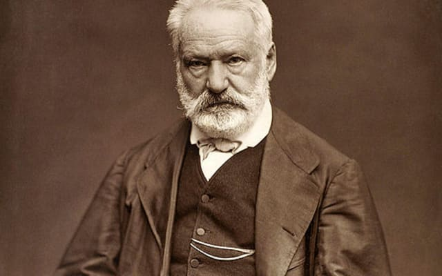 Victor Hugo by Etienne Carjat 1876 full