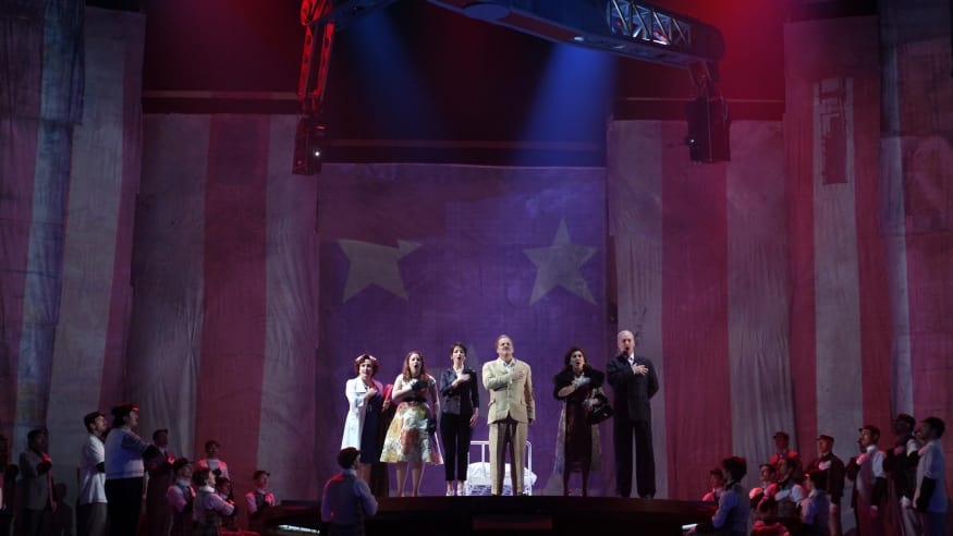 Orchestra del Teatro Real, The Perfect American, 2013