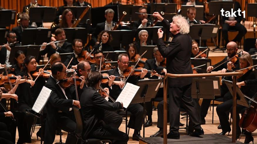 Sir Simon Rattle & London Symphony Orchestra: Dvořák und Beethoven