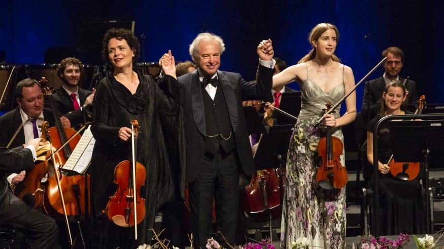 Verbier Festival Orchestra, Sinfonia concertante Es-Dur KV 364, 2018