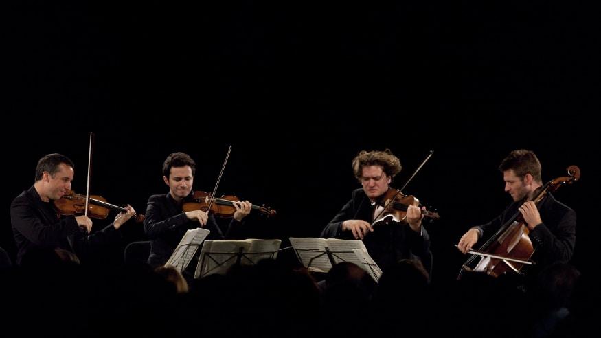 Quatuor Ébène, Streichquartett C-Dur op. 76,3 (Hob. III:77), 2014