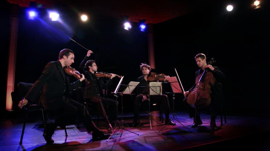 "Quatuor Ébène, Streichquartett Nr. 14 d-Moll D 810, ""Der Tod und das Mädchen"", 2008"