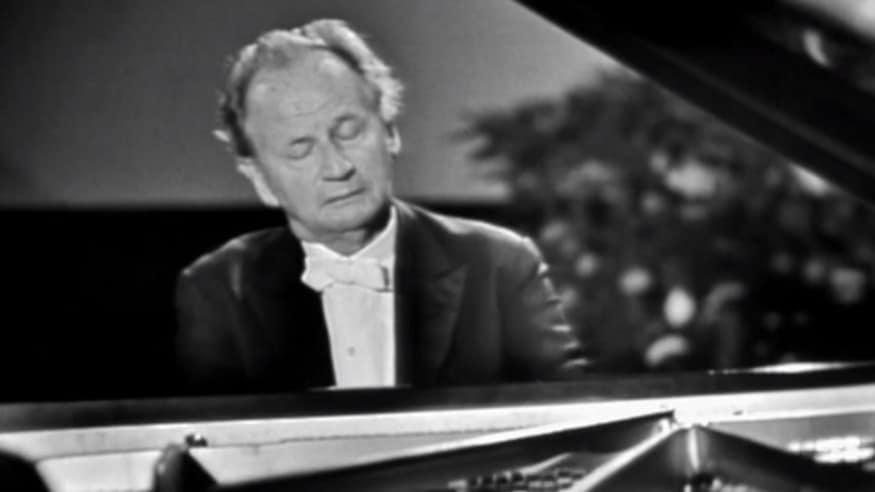 Wilhelm Kempff, Arabeske C-Dur op. 18, 1961