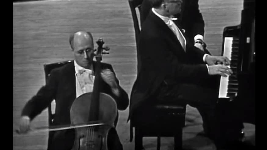 Mstislaw Rostropowitsch, Cellosonate Nr. 3 A-Dur op. 69, 1964