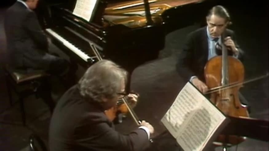 "Istomin-Stern-Rose Trio, Klaviertrio D-Dur op. 70 Nr. 1, ""Geistertrio"", 1970-1975"