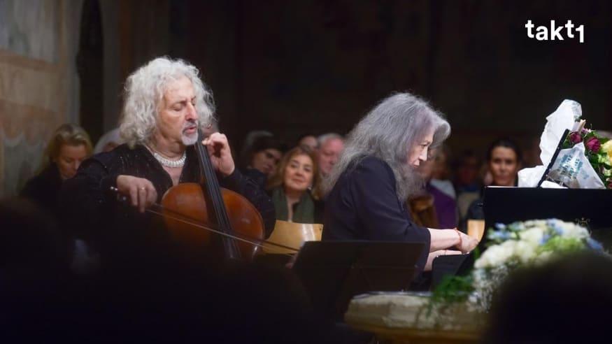 Martha Argerich & Mischa Maisky: Bach, Beethoven, Bruch & Chopin