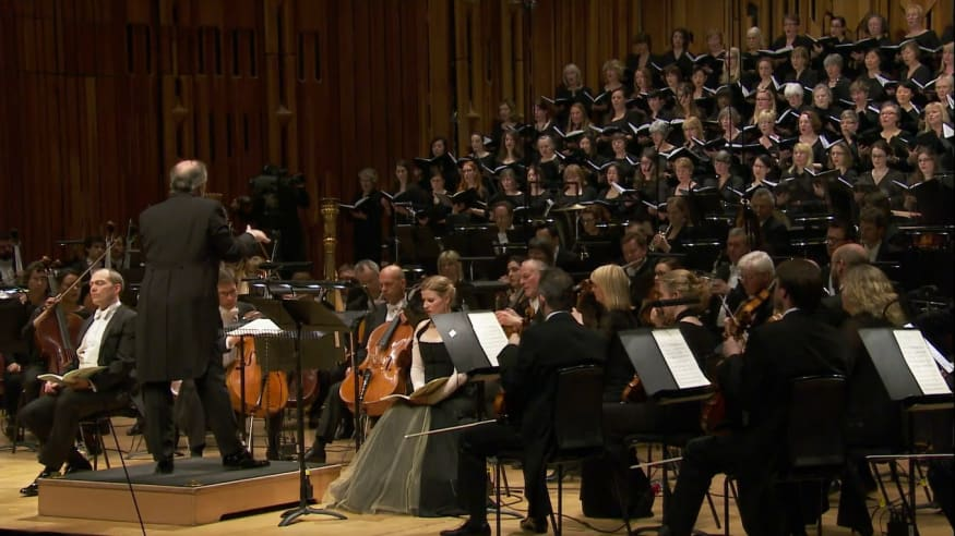 London Symphony Orchestra, Ein deutsches Requiem op. 45, 2014