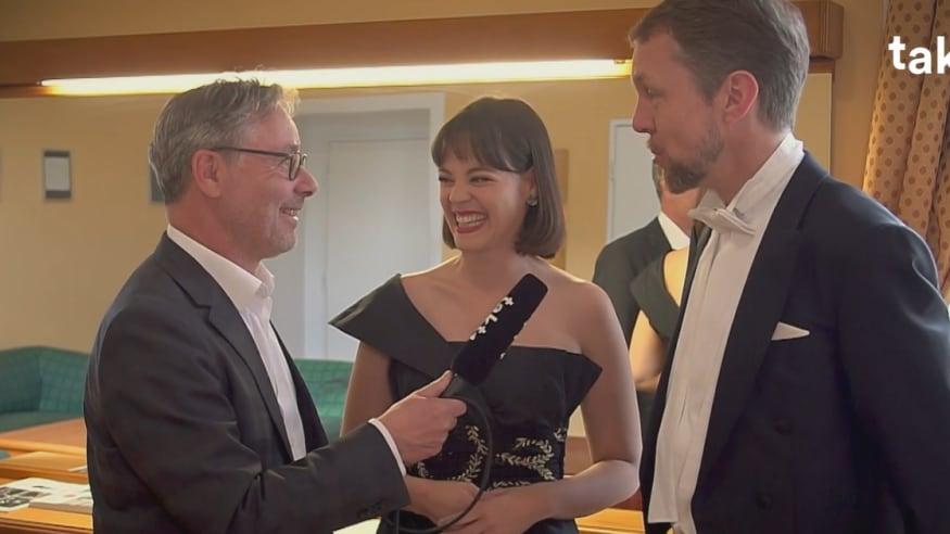 Regula Mühlemann, Georg Zeppenfeld und Daniel Froschauer über die besonderen Momente in Mahlers 'Symphonie der Tausend'