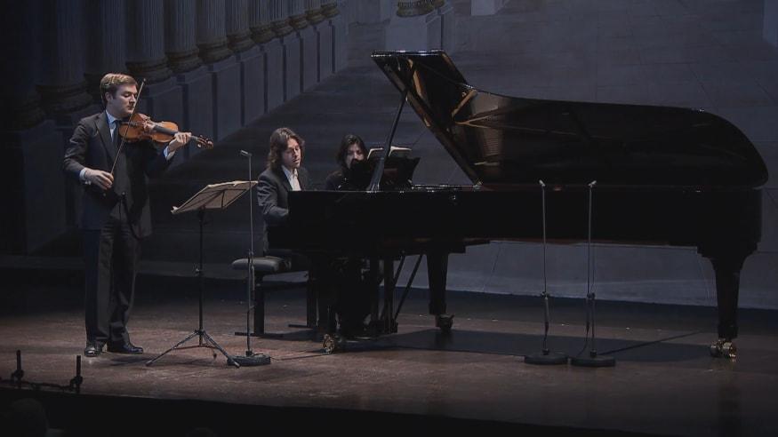 "Renaud Capuçon, Violinsonate Nr. 9 op. 47, ""Kreutzersonate"", 2011"