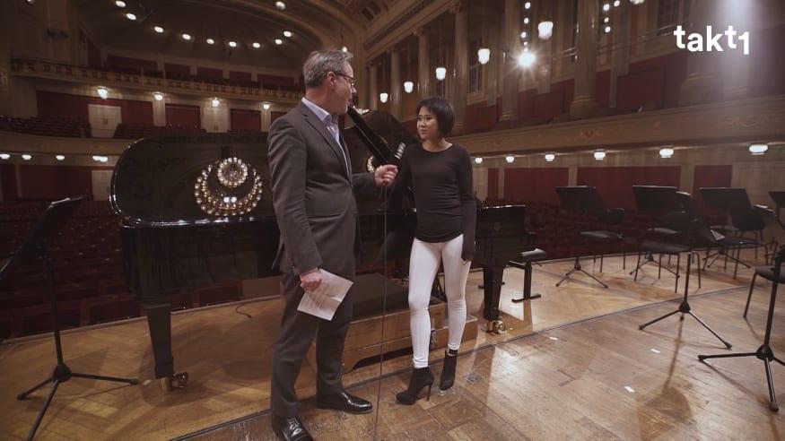 Yuja Wang über Schumanns Klavierkonzert