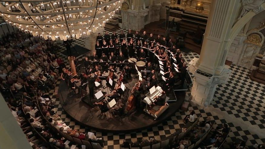 Ensemble Aedes, Requiem op. 48, 2019