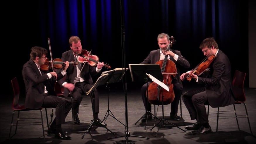 Zemlinsky Quartet, Streichquartett Nr. 14 As-Dur op. 105, 2021