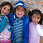 Kids with Smile Maker Elf