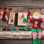 advent calendar with elf