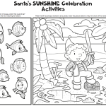 elf coloring sheets