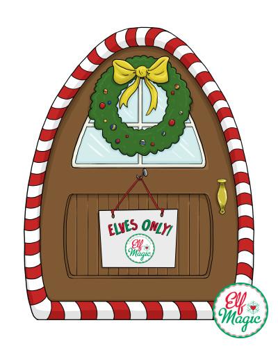 Elf Door Decoration