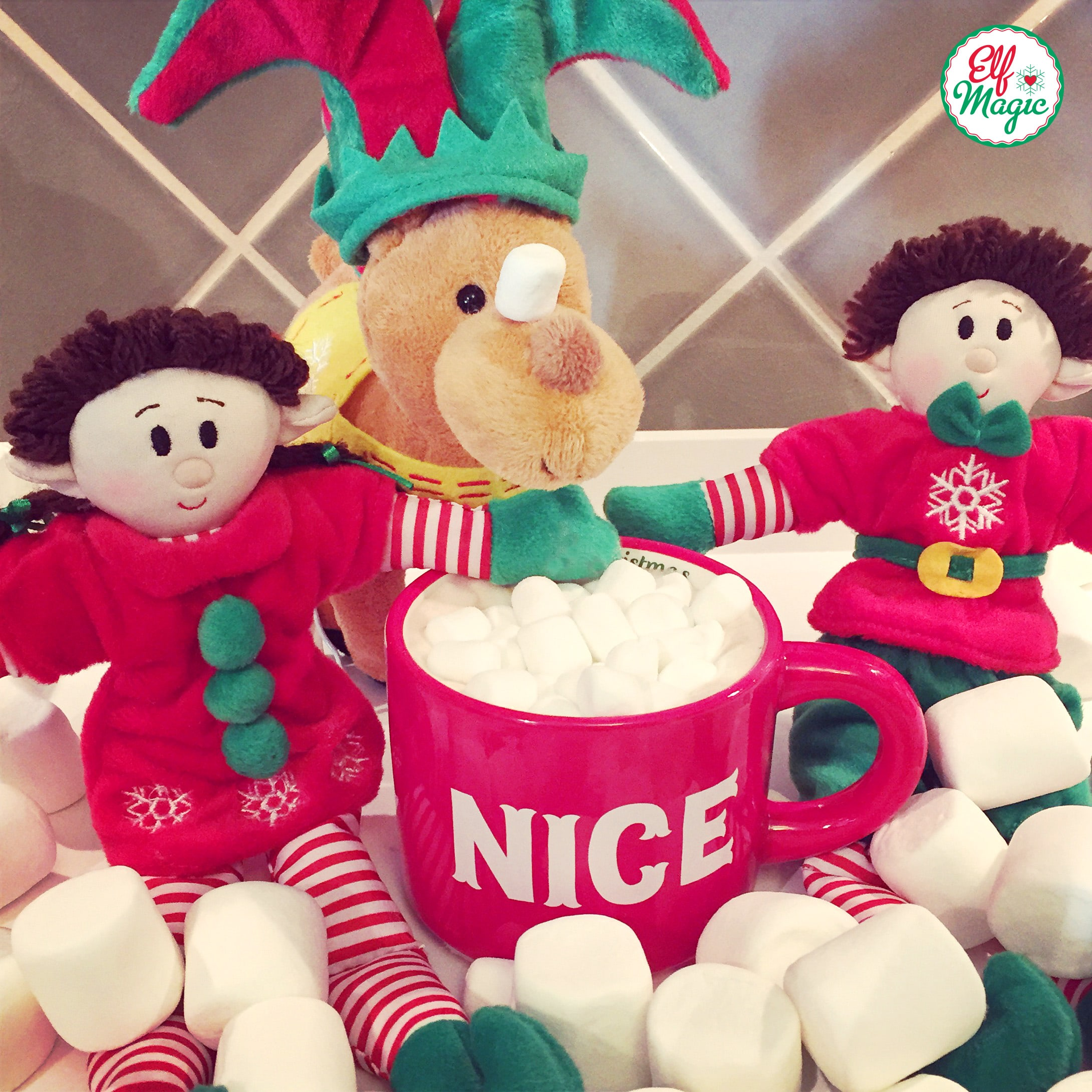 Elf Magic Hot Cocoa Day