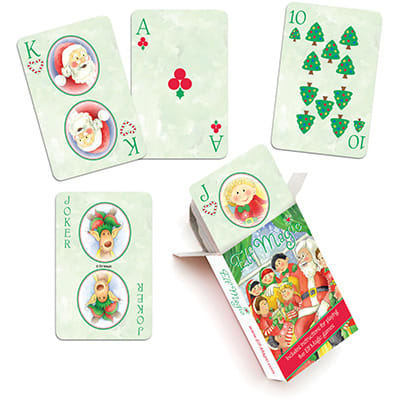 Pick an Elf Playing Cards