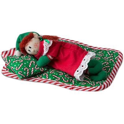 boy elf on Quilt & Pillow Set
