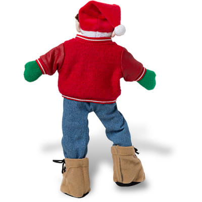 Deer Santa Jean Set back