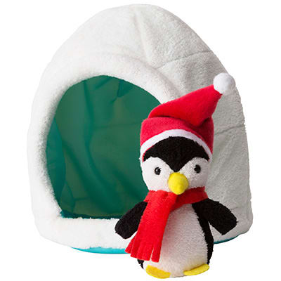 Pom Pom the Penguin and Igloo