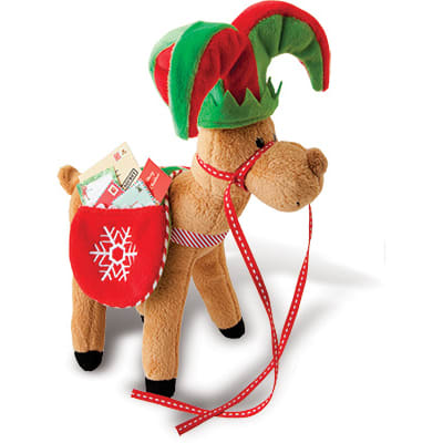 Magical Reindeer mail bag and hat