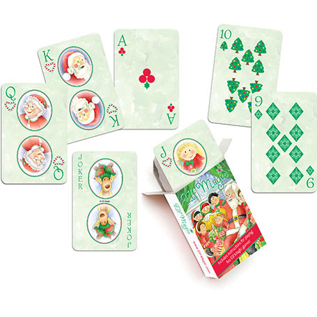 Elf Magic Playing Cards
