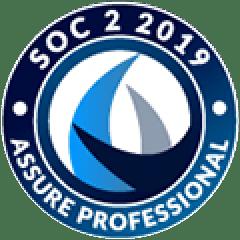 SOC 2 Type 2 2019 Assured Professional badge