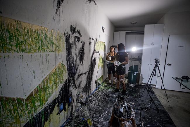 Tiffanie Painting Warhol.jpg