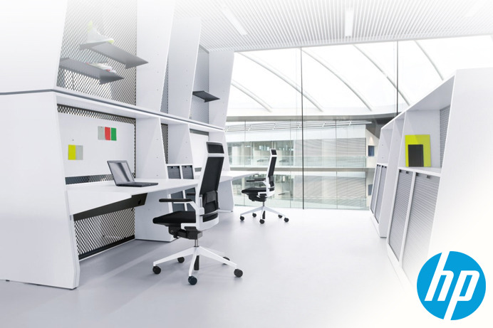 Design the ultimate office space for hp and microsoft for Ultimate office design
