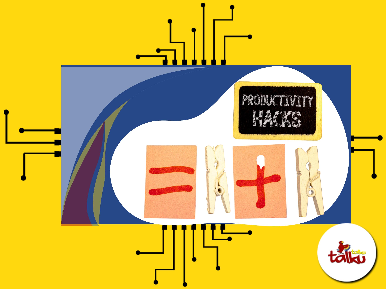 Productivity hacks for creativity boost