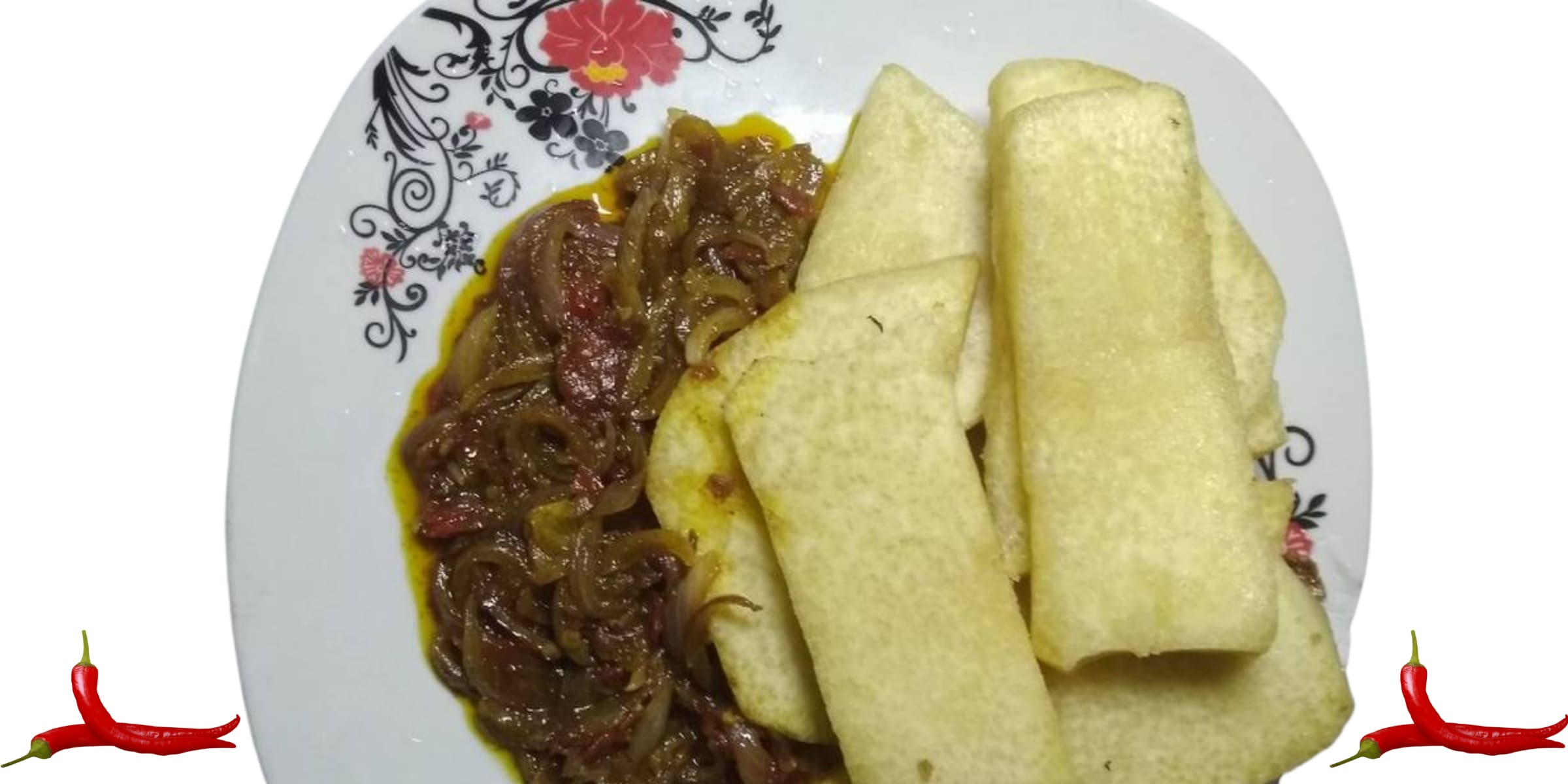 How to Make Yam and Onion Sauce