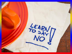 Learning to say no without creating a fuss