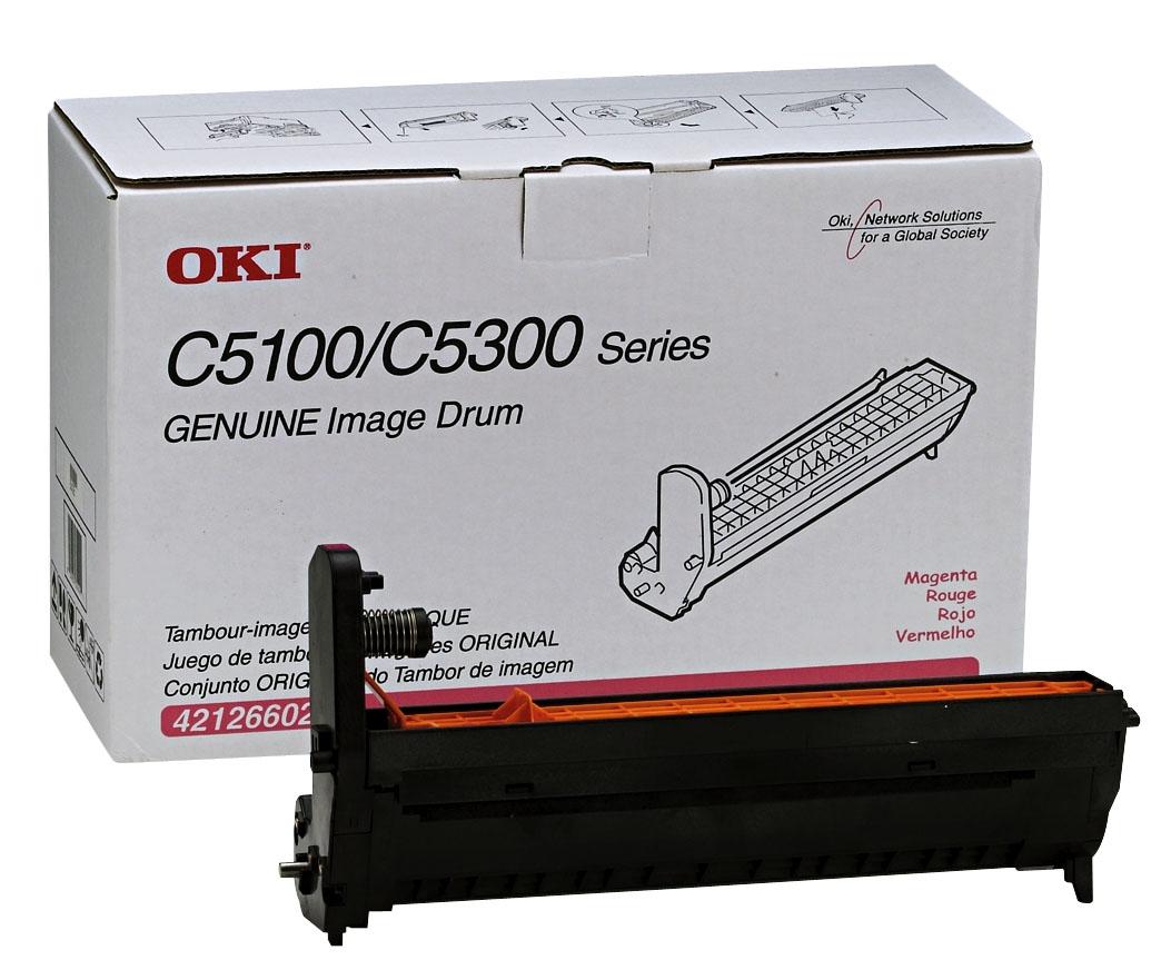 GENUINE OKI C5100 C5150 C5200 C5300 C5400 C5510 BLACK IMAGE DRUM UNIT 42126604