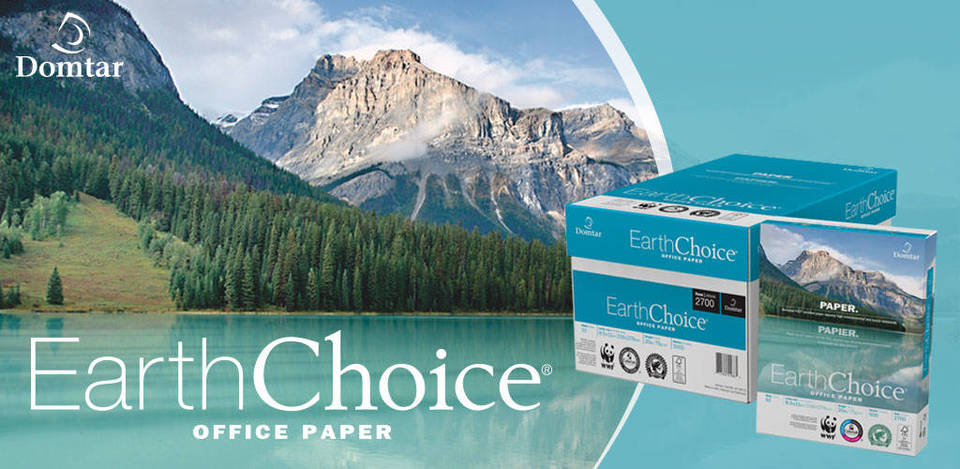 Earthchoice 8.5 X 11, 20lb, 92 Bright, Ivory, 5000 Sheets/case, 30% PCW Multipurpose Color Earthchoice