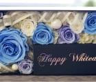 【メモリアルメッセージボックス Happy White Day】
