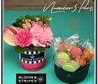 【BLOOM&STRIPES】スタイリッシュアレンジ&スイーツセットM.L