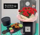 【BLOOM&STRIPES】カーネーション&スイーツセット 全4色