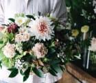 【ex. flower shop & laboratory】季節のアレンジメント - L -