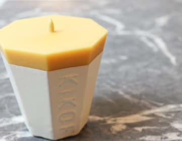 KIKOF Rice bran Candle01