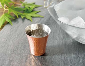 CNE982 純銅冷酒カップ2PCセット