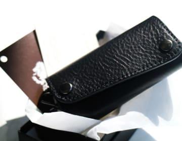 【CHIMERA】イタリアンレザーキーケース(ブラック)