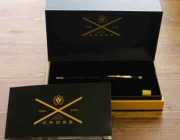 【Cross】センチュリー ブラックラッカーボールペン