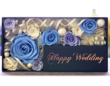 【メモリアルメッセージボックス Happy Wedding】