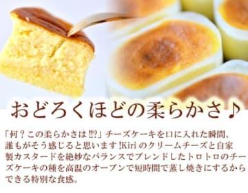 熱海の大人気ギフト《とろけるチーズケーキ》15個入り(5個×3)