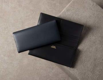 【FESON】キップ水シボ 長財布