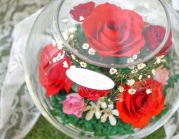 【結婚記念日】50代妻へおすすめのかわいいフラワーギフトを教えてください。【予算3000円】